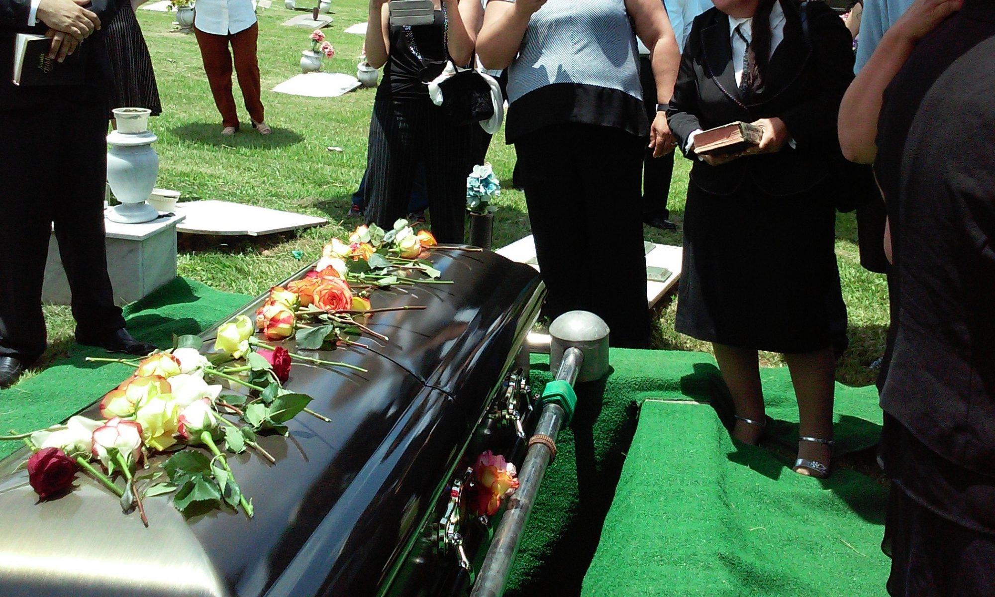 En sømmende begravelse i Randers
